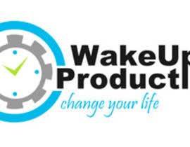 #19 untuk Design eines Logos for Website wake-up-productive.de oleh cosma23