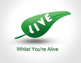 nº 403 pour Logo Design for Live Whilst You're Alive par rogeliobello