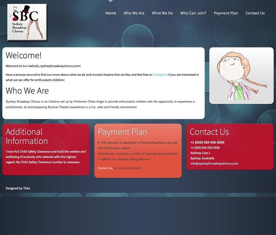 Bài tham dự cuộc thi #                                        25                                      cho                                         www.sydneybroadwaychorus.com