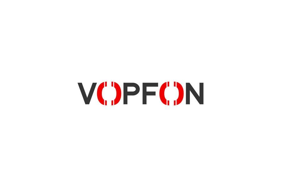 Proposition n°                                        26                                      du concours                                         Design a Logo for VOPFON