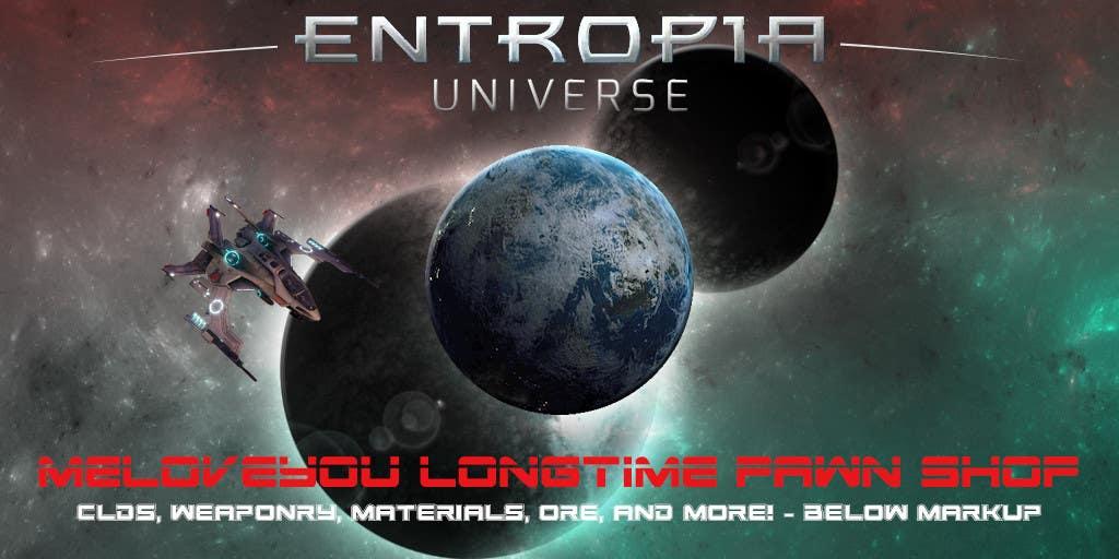 Kilpailutyö #13 kilpailussa Entropia Universe Banner for Game Shop