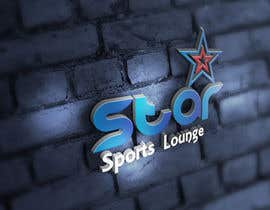 #56 para STAR Sports Lounge-LOGO por manuel0827