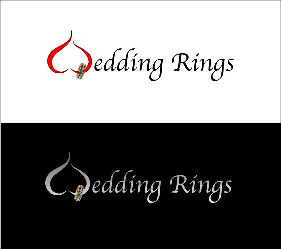 Contest Entry #                                        24                                      for                                         Logo Design for WeddingRings.net (yes, this is our company name)
