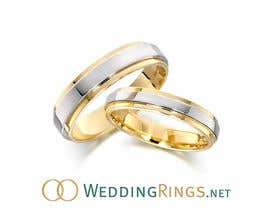 #45 para Logo Design for WeddingRings.net (yes, this is our company name) por santarellid