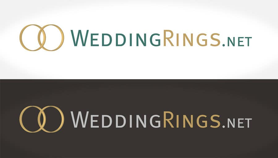 Contest Entry #                                        43                                      for                                         Logo Design for WeddingRings.net (yes, this is our company name)