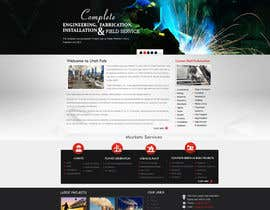 #40 cho Design a Website Mockup for Utah Fabrication bởi MagicalDesigner