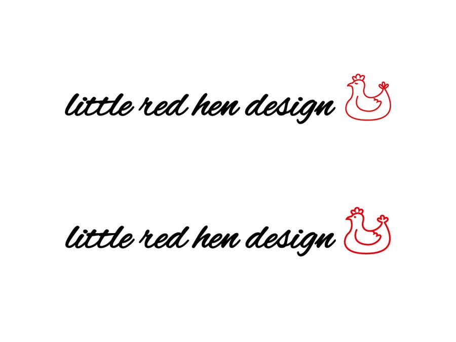 #17 for Design a Logo for Little Red Hen Designs by AnaKostovic27