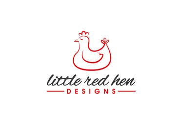 #19 for Design a Logo for Little Red Hen Designs by AnaKostovic27