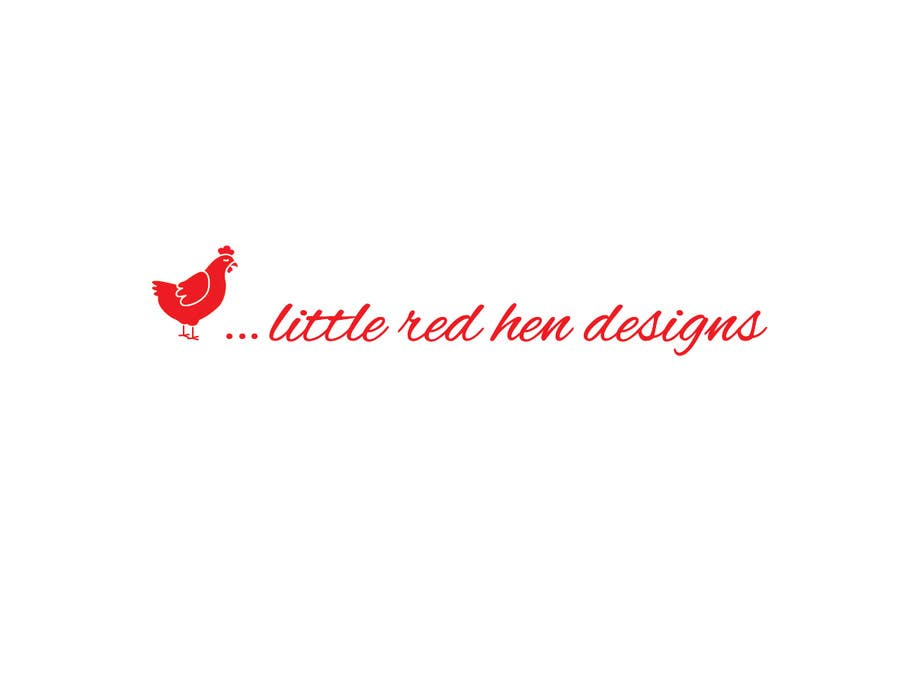 #43 for Design a Logo for Little Red Hen Designs by AnaKostovic27