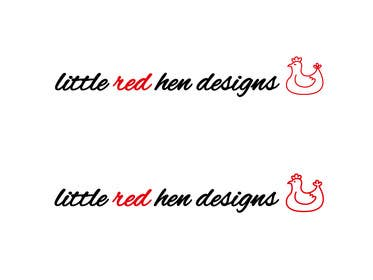 #47 for Design a Logo for Little Red Hen Designs by AnaKostovic27