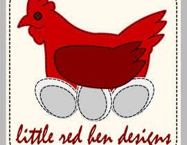 Trypoxy tarafından Design a Logo for Little Red Hen Designs için no 54
