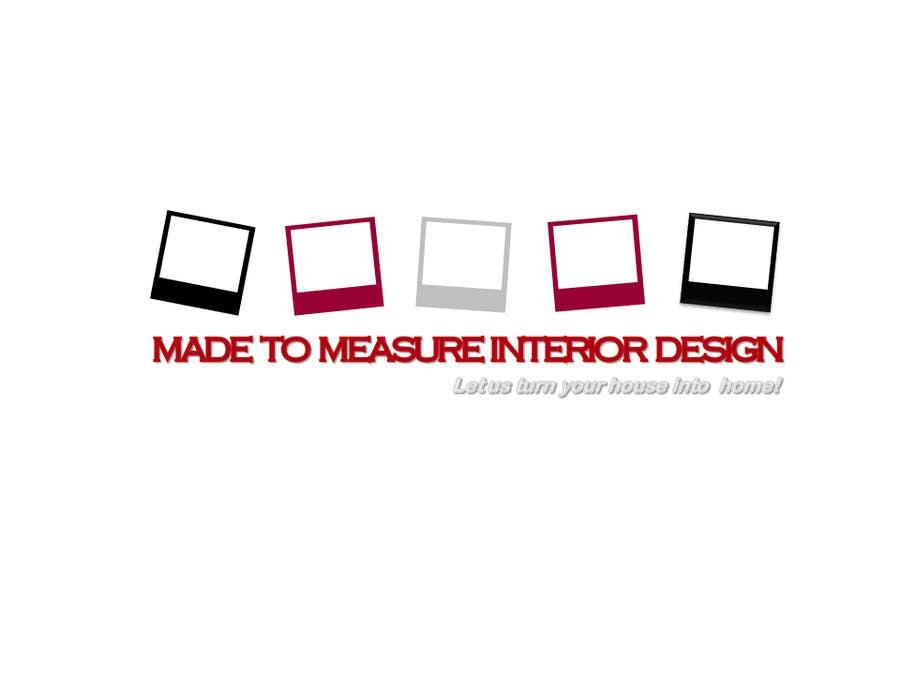 Kilpailutyö #8 kilpailussa Design a Logo for Interior Design Firm