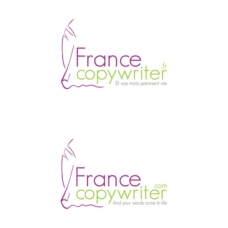 #41 for Require logo and business cards design for:  Francecopywriter (international logo) by Bauerol3