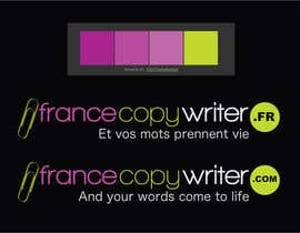 #13 para Require logo and business cards design for:  Francecopywriter (international logo) por dannnnny85