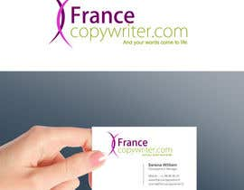 #32 para Require logo and business cards design for:  Francecopywriter (international logo) por smarttaste