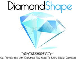 #1 for DiamondShape.com Logo & Header af dbridges