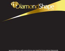 #3 for DiamondShape.com Logo & Header af arteastik