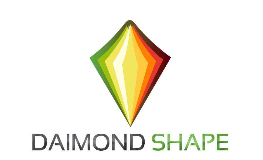 Penyertaan Peraduan #6 untuk DiamondShape.com Logo & Header