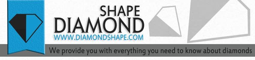 Inscrição nº 23 do Concurso para DiamondShape.com Logo & Header