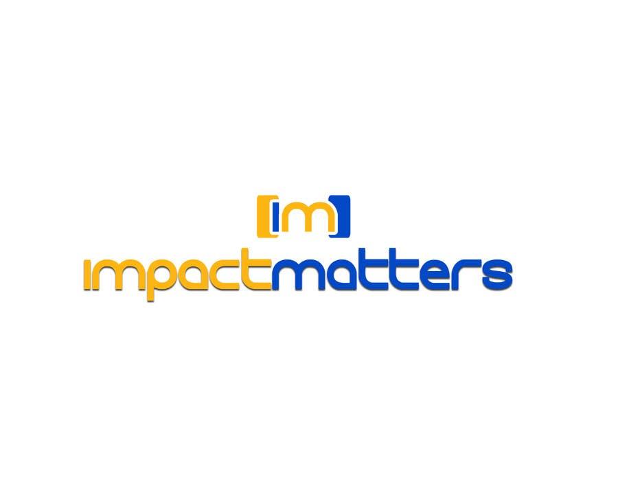 Penyertaan Peraduan #72 untuk Design a Logo for Impact Matters