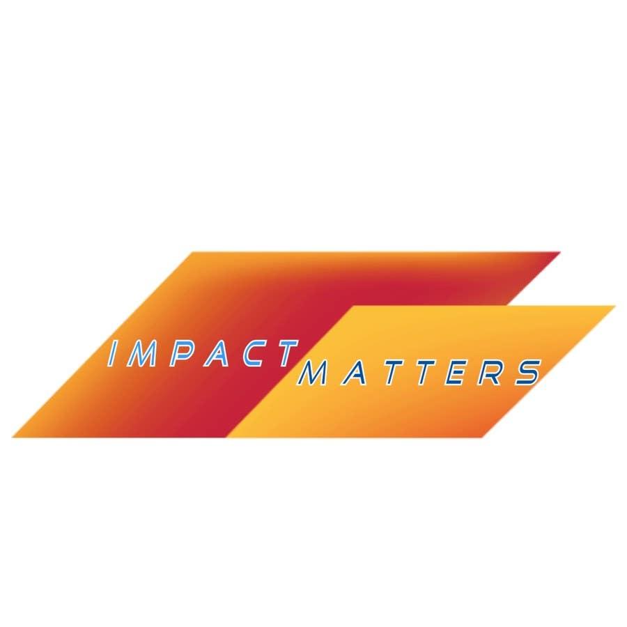 Penyertaan Peraduan #63 untuk Design a Logo for Impact Matters