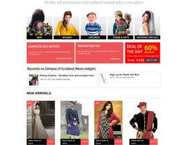 #8 cho HeritageOfScotland.com - online store graphic design. Functional mockup is ready. Probable job offer for three best designers. bởi kethketh