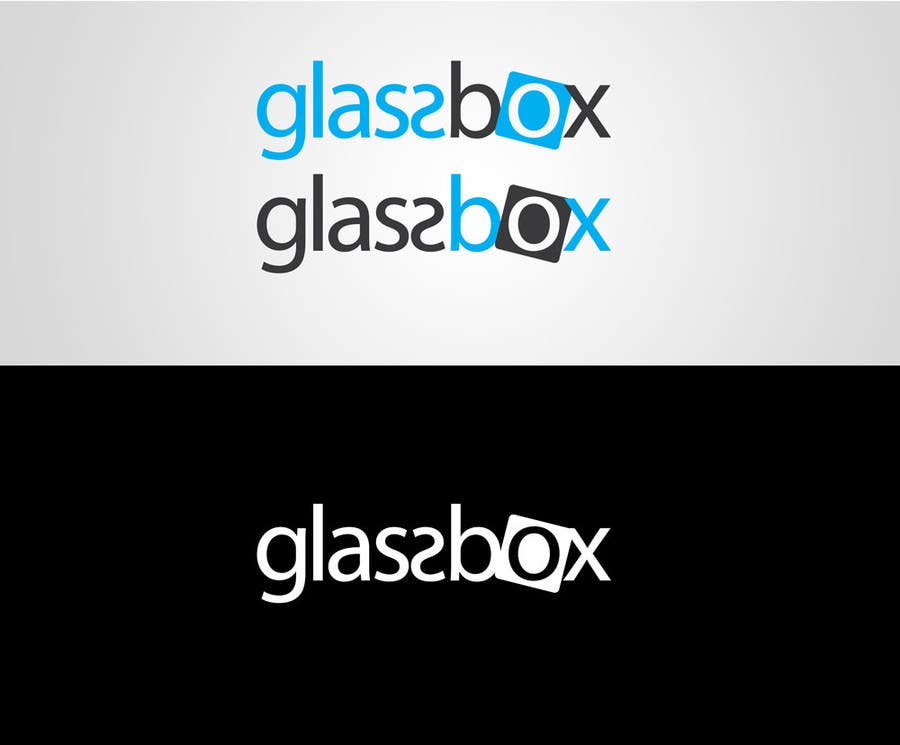 Penyertaan Peraduan #325 untuk Clean & modern logo for the name GLASSBOX (international consulting biz)
