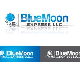 nº 48 pour Design a Logo for Blue Moon Express LLC par ajdezignz