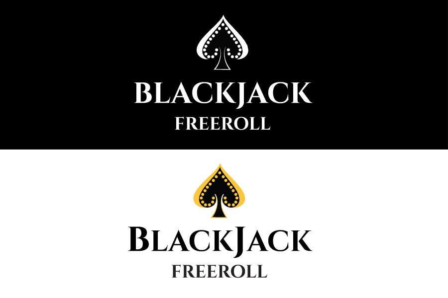#183 for Design a Logo for Blackjack Freeroll by tudorgandu
