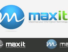 #142 for Design a Logo for MaxIT by vinkisoft