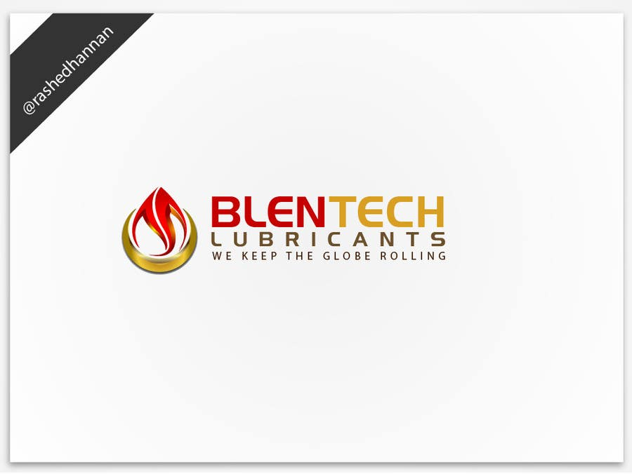 #123 for Graphic Designer Needed to Design a Company Logo for Lubricant Industry by rashedhannan