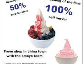 #12 for MrFroyo flyer design af poojark