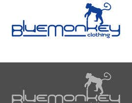 nº 5 pour Design a T-Shirt for Blue Monkey Clothing par vladimirsozolins