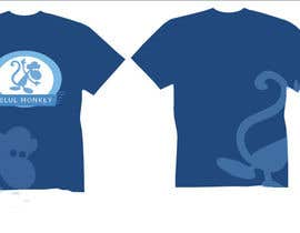 nº 14 pour Design a T-Shirt for Blue Monkey Clothing par misscincy