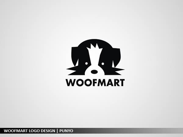#46 for Logo design for Woof Mart by punyo