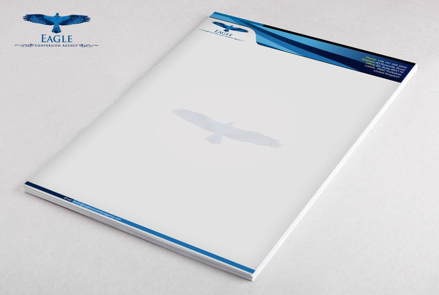 #45 for Design my Company Letterhead by Artimization