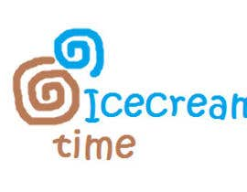 nº 6 pour Logo Design for Icecream Time par WriterS11