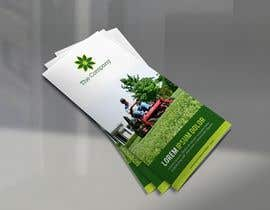 design a brochure for a lawn landscape company freelancer