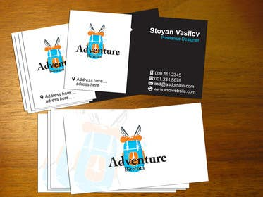 #1 for Design some Business Cards for AdventureBite.com by stoyanvasilev98
