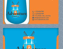 #21 para Design some Business Cards for AdventureBite.com por Masumulhaque