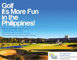 #7 untuk Poster/ Advertisement for Golf Holidays  - RUSH Deadline Sep.13 oleh samazran