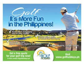 #17 for Poster/ Advertisement for Golf Holidays  - RUSH Deadline Sep.13 af b74design
