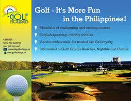 #5 untuk Poster/ Advertisement for Golf Holidays  - RUSH Deadline Sep.13 oleh linokvarghese
