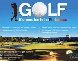 #8 para Poster/ Advertisement for Golf Holidays  - RUSH Deadline Sep.13 por Mimi214