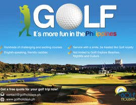 #10 para Poster/ Advertisement for Golf Holidays  - RUSH Deadline Sep.13 por Mimi214