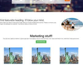 nº 3 pour Flight website design - One page par jaypatel512