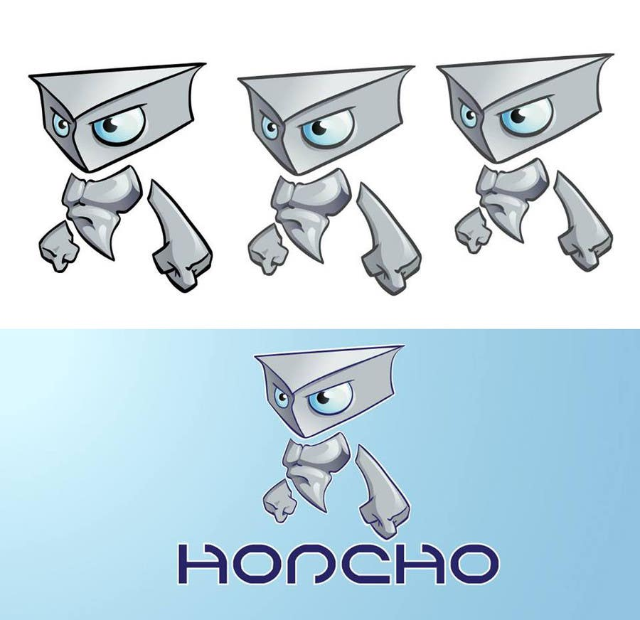 #47 for Design a 2D/3D Illustration/Cartoon/Mascot for Honcho by mamem