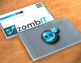 nº 4 pour Business Cards for zombit.mx par PauleyDD