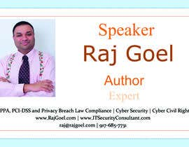 #5 untuk Design some Business Cards for Raj Goel oleh OneArmBoxer