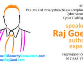#4 untuk Design some Business Cards for Raj Goel oleh popescumarian76